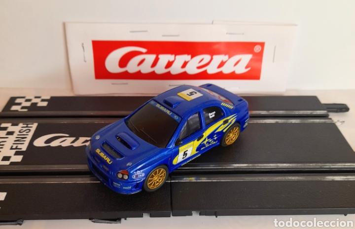 CARRERA GO!!! - SUBARU WRX -RICHARS BURNS- PISTAS ELECTRICAS DE 1/43 (Juguetes - Slot Cars - Magic Cars y Otros)