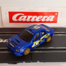 Slot Cars: CARRERA GO!!! - SUBARU WRX -RICHARS BURNS- PISTAS ELECTRICAS DE 1/43. Lote 285285598