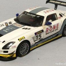 Slot Cars: SCALEAUTO MERCEDES SLS GT3. Lote 285528113