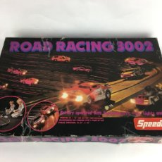 Slot Cars: JUEGO TIPO SCALEXTRIC SPEEDTRAX ROAD RACING 3002 ENGLAND 1979. Lote 287357148