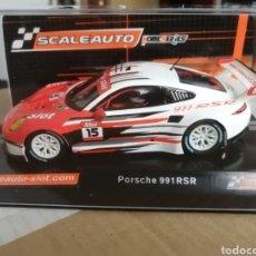 Slot Cars: SC-6167. PORSCHE 991 EDICION LIMITADA MASSLOT DE SCALEAUTO. Lote 287459998