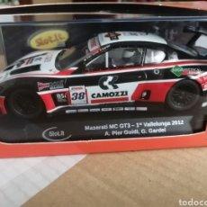 Slot Cars: CA43B. MASERATI MC GT3 Nº38 DE SLOT.IT. Lote 287462013