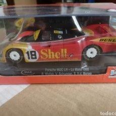 Slot Cars: CA03M. PORSCHE 962C LH Nº18 SHELL 24H. LE MANS DE SLOT.IT. Lote 287462193