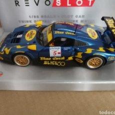 Slot Cars: RS0103. PORSCHE 911 GT1 Nº5 BLUE CORAL DE REVOSLOT. Lote 287462833