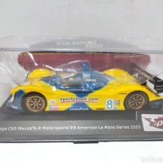 Slot Cars: SPIRIT COURAGE C65 MAZDA N°8 AMERICAN LE MANS SERIES 2005 REF. 0601206. Lote 287645343