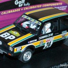 Slot Cars: SPIRIT 0701503 VW GOLF GTI BP RACING R MILLES PISTES 1980. Lote 287931143