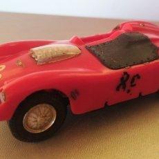 Slot Cars: ANTIGUO COCHE SLOT AÑO 1962.FERRARI MARCA CIRCUT 24. Lote 287949048