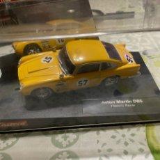 Slot Cars: ASTON MARTIN DB5 AMARILLO DE CARRERA, NUEVO EN SU CAJA. Lote 288555433