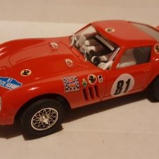 Slot Cars: SCALEXTRIC FERRARI GTO RALLYE GERONA DE PINK KAR REF.-CV052. Lote 289730933