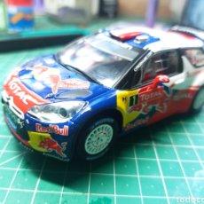Slot Cars: CARRERA EVOLUTION 27407 CITROEN DS3 WRC SEBASTIAN LOEB. Lote 293930273