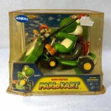 Slot Cars: MARIO KART 64 YOSHI 2004 R/C CONTROL REMOTO - NUEVO EN SU BLISTER SIN ABRIR. Lote 294132763