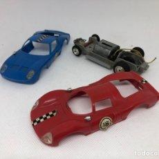 Slot Cars: DESGUACE COCHES FERRARI LAMBORGHINI MARCA POLY SLOT ESCALA 1/32. Lote 295010853