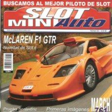 Slot Cars: REVISTA, MINIAUTO SLOT Nº-32, VER SUMARIO. Lote 295290448