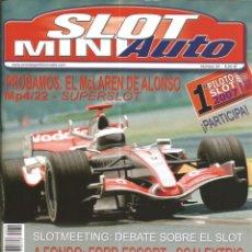 Slot Cars: REVISTA, MINIAUTO SLOT Nº-34, VER SUMARIO. Lote 295290558