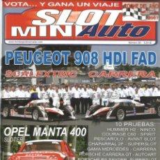 Slot Cars: REVISTA, MINIAUTO SLOT Nº-39, VER SUMARIO. Lote 295291198