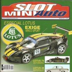 Slot Cars: REVISTA, MINIAUTO SLOT Nº-54, VER SUMARIO. Lote 295291608