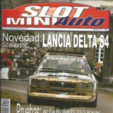 Slot Cars: REVISTA, MINIAUTO SLOT Nº-55, VER SUMARIO. Lote 295291733