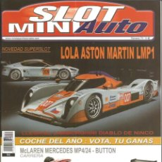 Slot Cars: REVISTA, MINIAUTO SLOT Nº-74, VER SUMARIO. Lote 295292028