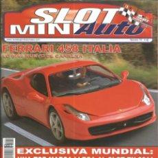 Slot Cars: REVISTA, MINIAUTO SLOT Nº-75, VER SUMARIO. Lote 295292183