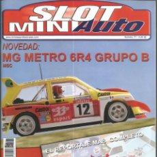 Slot Cars: REVISTA, MINIAUTO SLOT Nº-77, VER SUMARIO. Lote 295292353