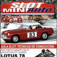 Slot Cars: REVISTA, MINIAUTO SLOT Nº-82, VER SUMARIO. Lote 295292463