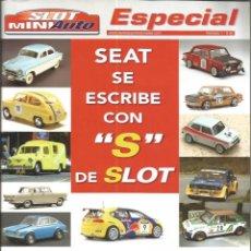 Slot Cars: REVISTA, MINIAUTO SLOT ESPECIAL SEAT. Lote 295294378