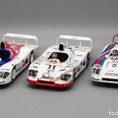 Slot Cars: LOTE 3 X PORSCHE 936 24 HORAS DE LE MANS (SPIRIT). Lote 295489933