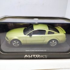 Slot Cars: AUTOART FORD MUSTANG GT 2005 LEGEND LINE REF. 13051 SLOT CAR. Lote 295848518