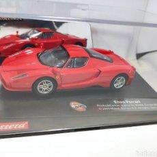 Slot Cars: CARRERA EVOLUTION FERRARI ENZO RED REF. 25702. Lote 295850578