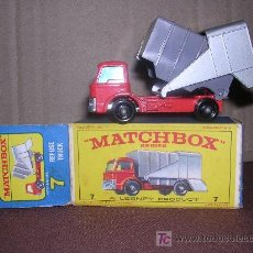 Slot Cars: MATCHBOX , REFUNE TRUCK 7. Lote 14146171