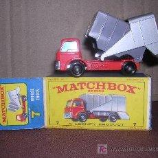 Slot Cars: MATCHBOX , REFUNE TRUCK 7. Lote 14146171