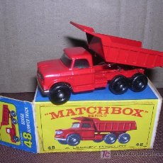 Slot Cars: MATCHBOX DODGE DUMPER TRUCK. Lote 15966781