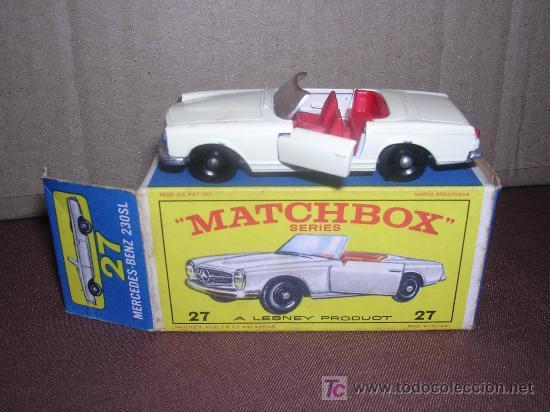 MATCHBOX MERCEDES BENZ 230SL (Juguetes - Slot Cars - Matchbox)
