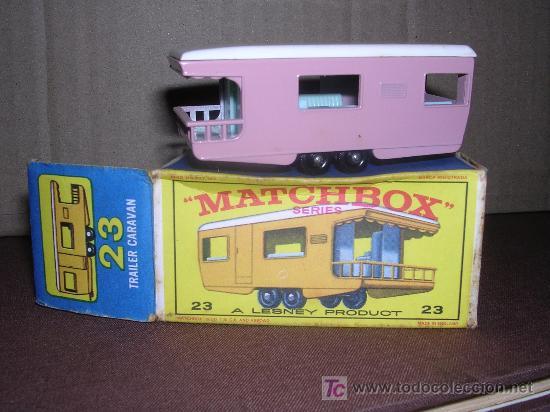 MATCHBOX TRAILER CARAVAN Nº23 (Juguetes - Slot Cars - Matchbox)