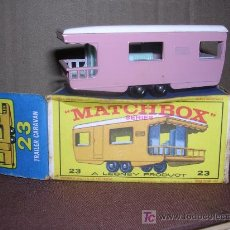 Slot Cars: MATCHBOX TRAILER CARAVAN Nº23. Lote 9826704
