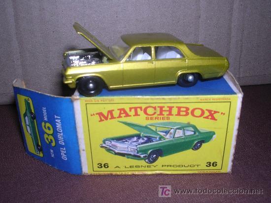 MATCHBOX OPEL DIPLOMAT Nº36 (Juguetes - Slot Cars - Matchbox)