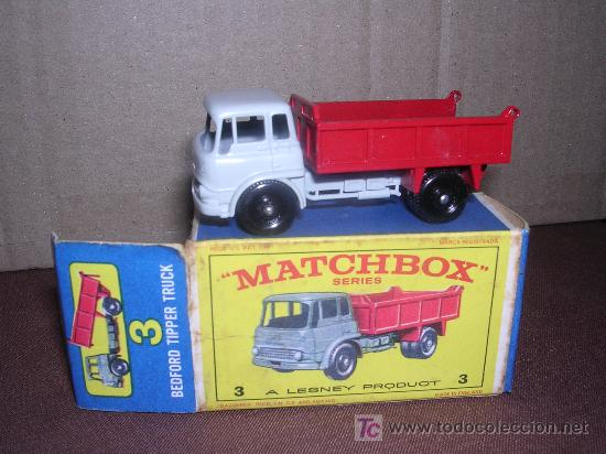 MATCHBOX BEDFORD TIPPER TRUCK Nº3 (Juguetes - Slot Cars - Matchbox)