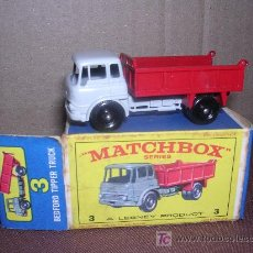 Slot Cars: MATCHBOX BEDFORD TIPPER TRUCK Nº3. Lote 16175043