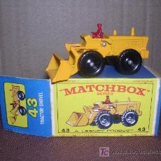 Slot Cars: MATCHBOX TRACTOR SHOVEL Nº43. Lote 12224979