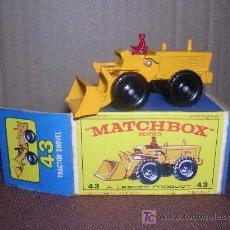 Slot Cars: MATCHBOX TRACTOR SHOVEL Nº43. Lote 12224979