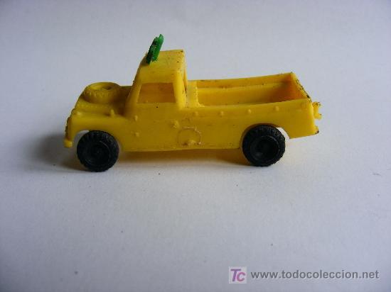 COCHE GRUA, CARNABAL PLASTICO (Juguetes - Slot Cars - Matchbox)
