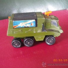 Slot Cars: CAMION LANZA MISSILES MADE IN ENGLAND DE : 11 X 6 X 5,5 CTMS.. Lote 25099490