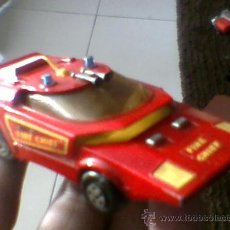 Slot Cars: 1971 MATCHBOX SPEED KINGS SHOVEL NOSE FIRE CHIEF K-32 JEFE BOMBEROS MBE. Lote 31113205