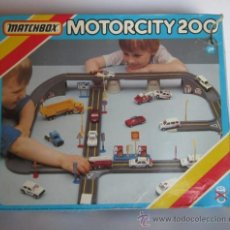 Slot Cars: MOTORCITY 200, DE MATCHBOX, EN CAJA, CC. Lote 32065425