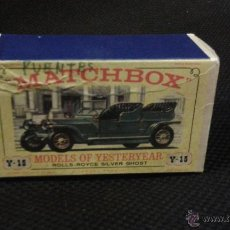 Slot Cars: CAJA VACÍA MATCHBOX Y 5 MODELS OF YESTERDAY. ROLLS- ROYCE. SILVER GHOST.. Lote 47792841