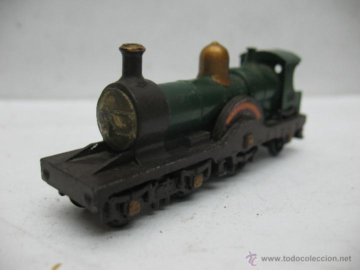 MATCHBOX LESNEY REF14 - ANTIGUA LOCOMOTORA DE VAPOR DUKE CONNAUGHT METÁLICA FABRICADO EN ENGLAND ERF (Juguetes - Slot Cars - Matchbox)