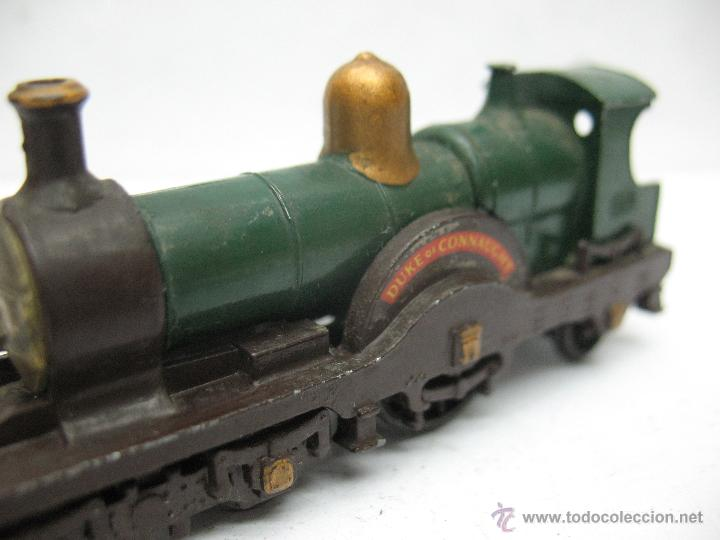 Slot Cars: Matchbox Lesney Ref14 - Antigua locomotora de vapor Duke Connaught metálica fabricado en England ERF - Foto 3 - 50491397