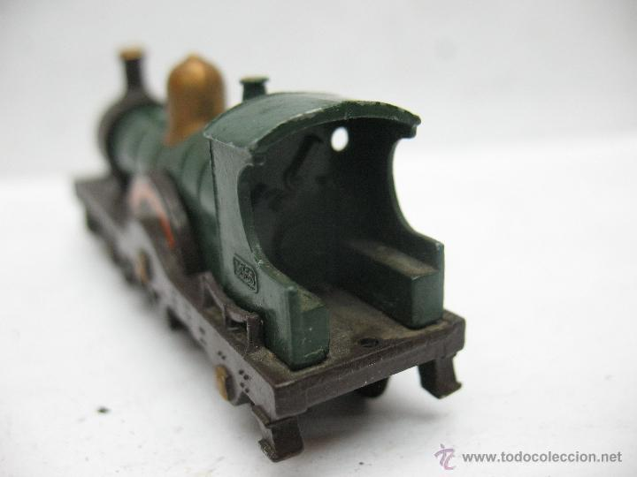 Slot Cars: Matchbox Lesney Ref14 - Antigua locomotora de vapor Duke Connaught metálica fabricado en England ERF - Foto 4 - 50491397