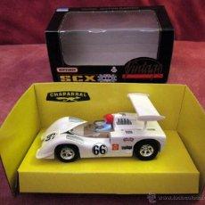 Slot Cars: SCALEXTRIC VINTAGE -MATCHBOX -CHAPARRAL GT -REF 83390.20 -NUMERADO, 0223 / 5000 - 1997, SIN ESTRENAR. Lote 54408177