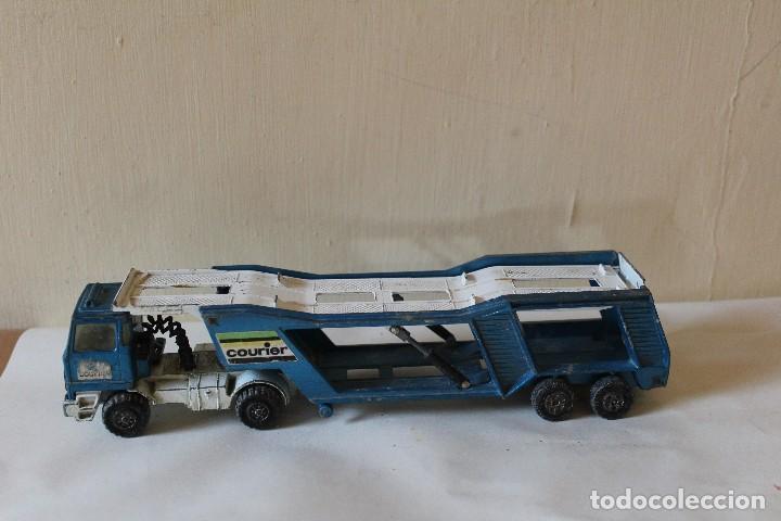 CAMIÓN PORTA COCHES MATCHBOX SUPER KINGS LESNEY K -10 1980 (Juguetes - Slot Cars - Matchbox)